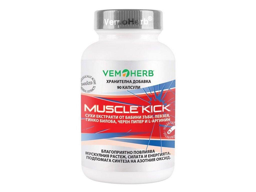 VemoHerb Muscle Kick 90kapslí