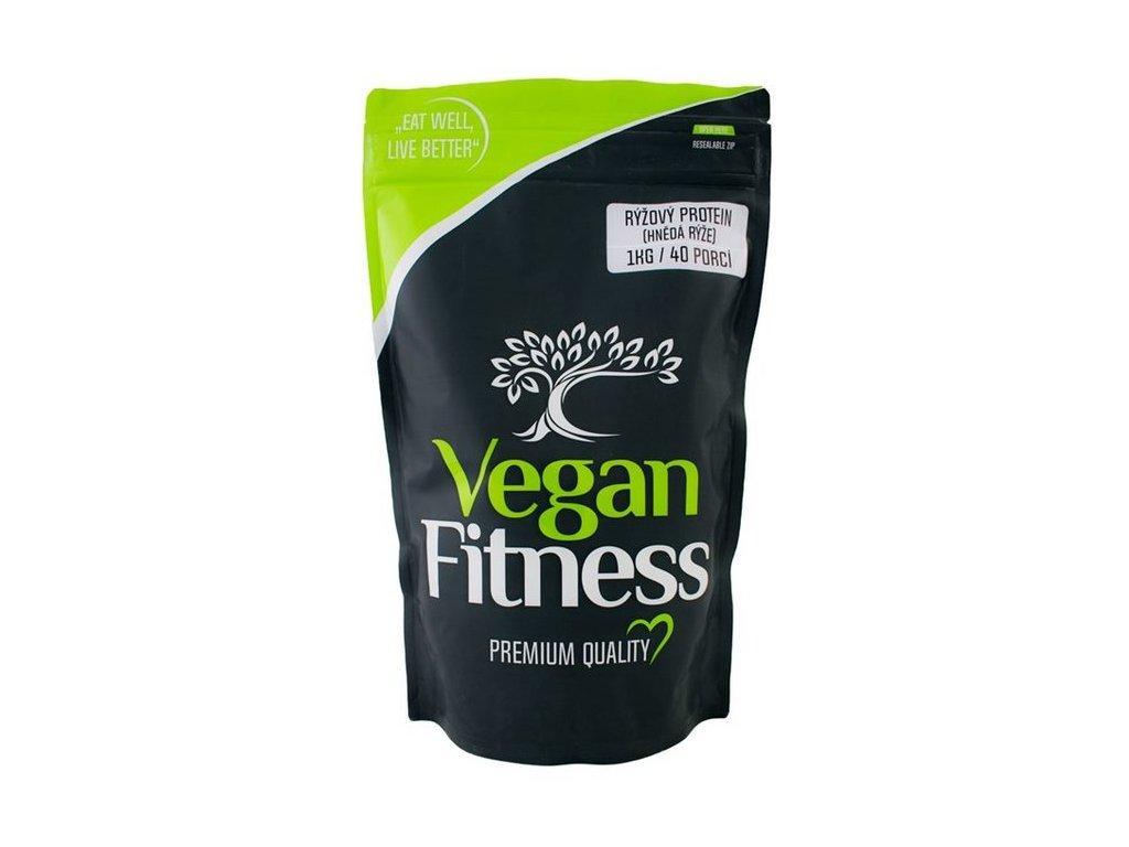 Vegan Fitness Rýžový protein (hnědá rýže) 1000g