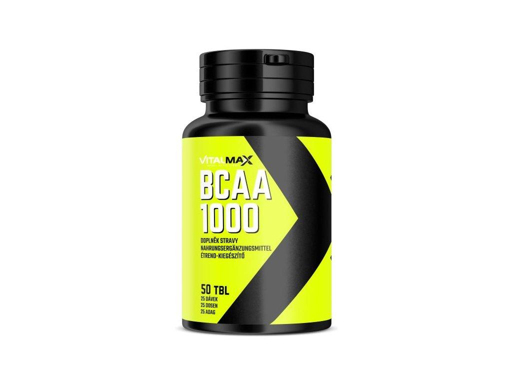 Vitalmax BCAA 1000 50kapslí