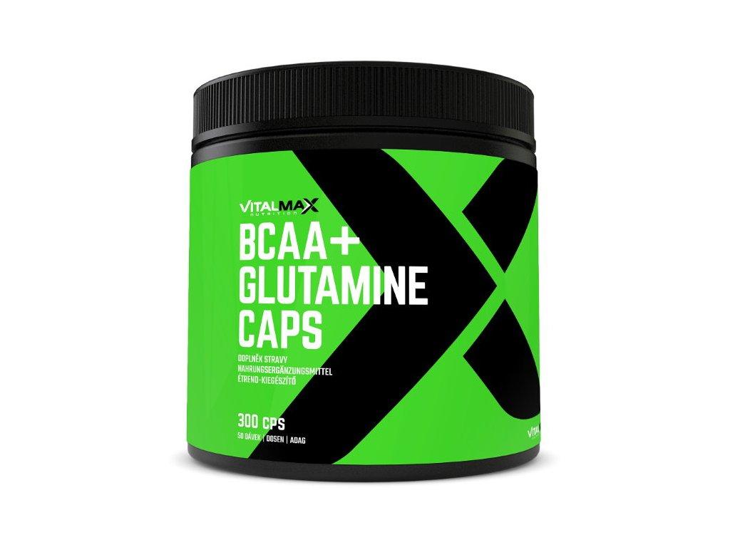 Vitalmax BCAA + Glutamine Caps 300kapslí