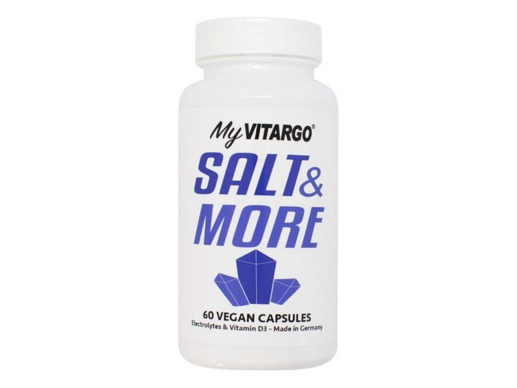 Vitargo Salt & More (Minerály s vitamínem D3 a K2) 60 kapslí