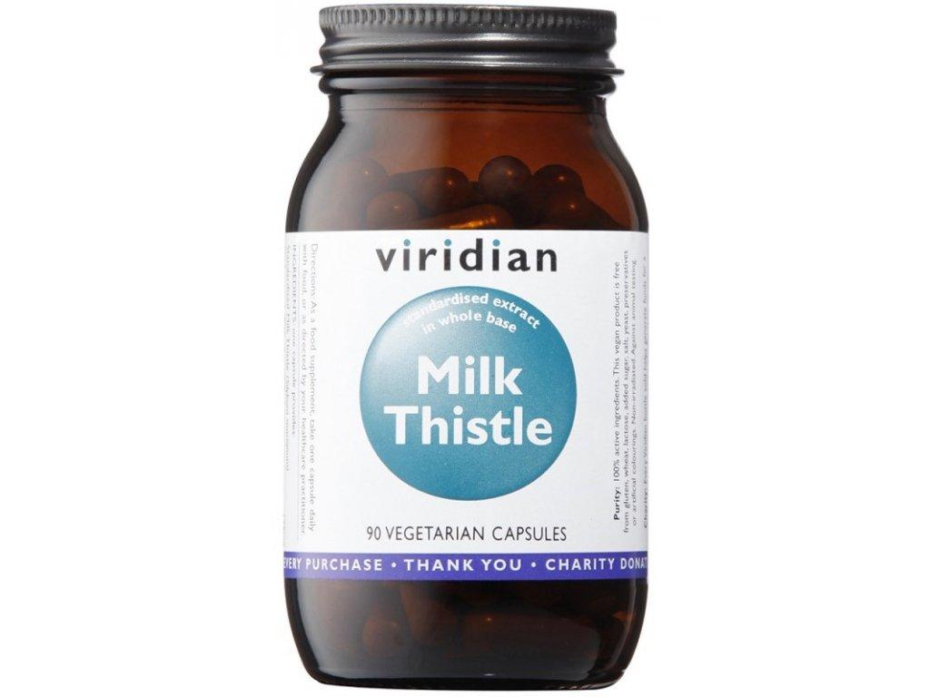 Viridian Milk Thistle (Ostropestřec mariánský) 90kapslí