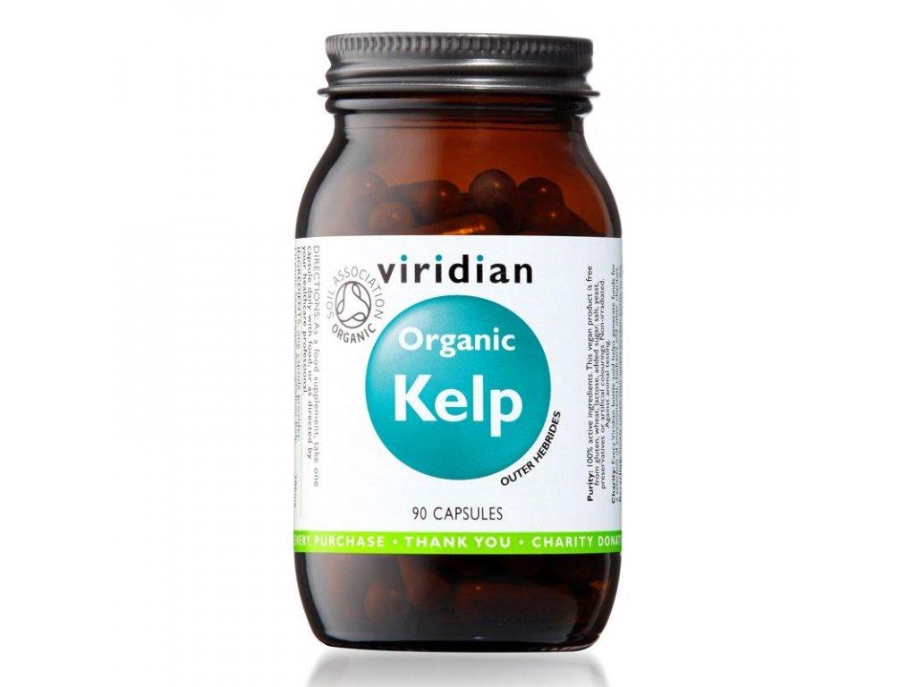 Viridian Organic Kelp (Mořská řasa) 90 kapslí