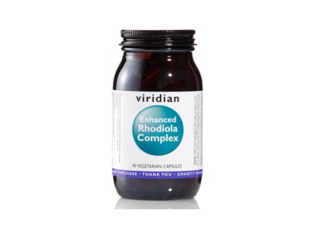 Viridian Enhanced Rhodiola Complex (Rozchodnice růžová s adaptogeny) 90 kapslí