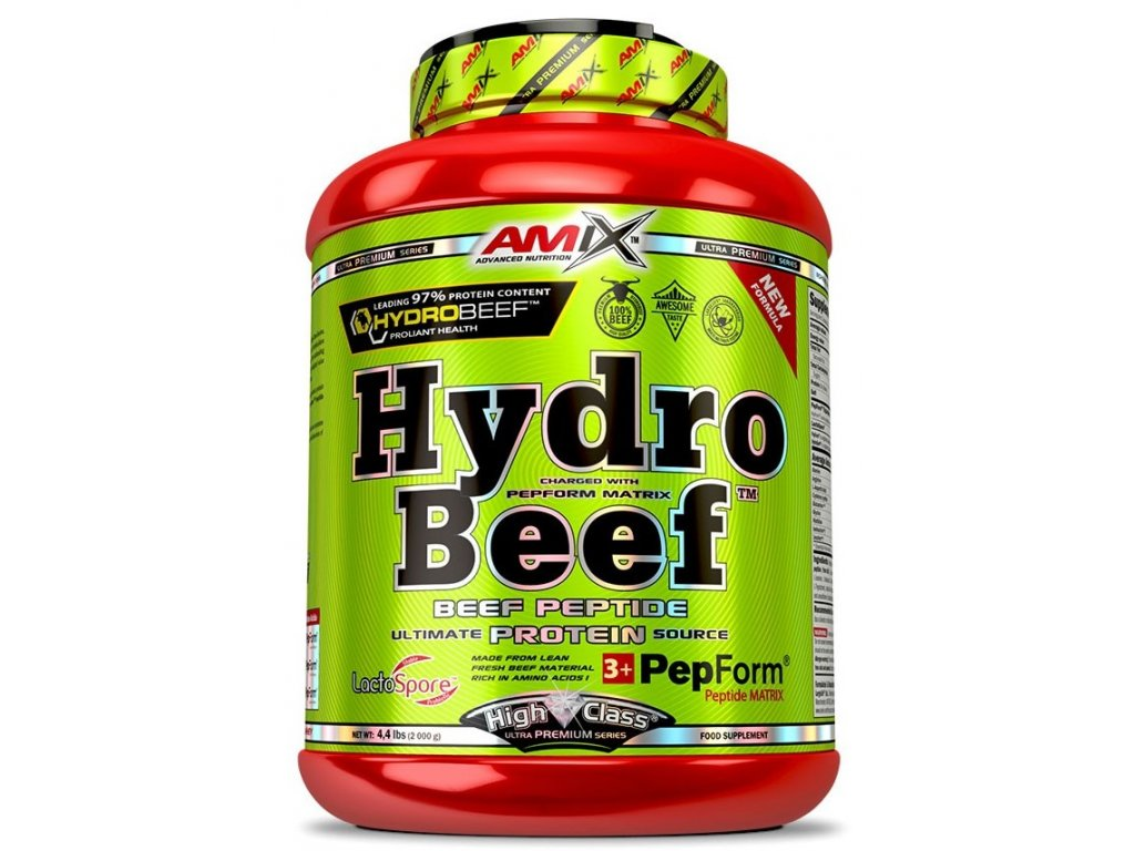Amix HydroBeef Peptide Protein 1000g