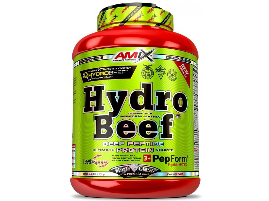 Amix HydroBeef Peptide Protein 2000g