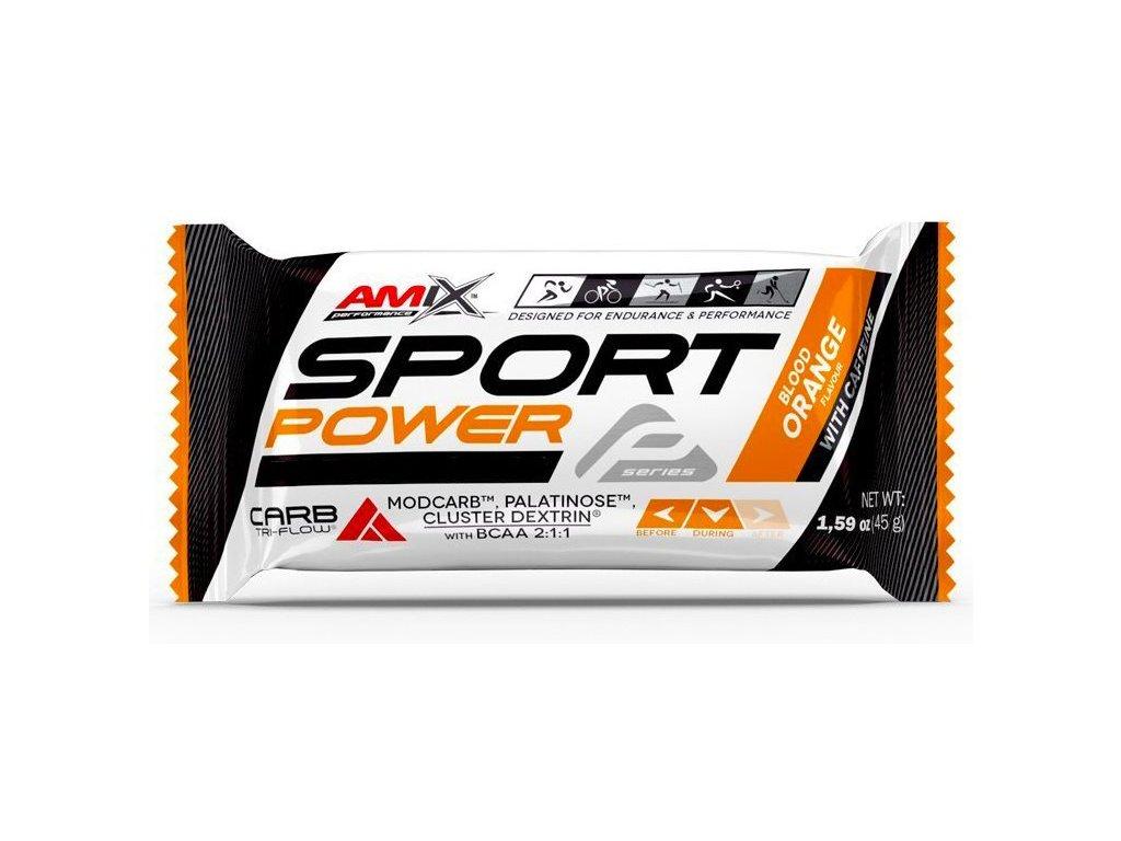 Amix Sport Power Energy Bar s kofeinem 45g