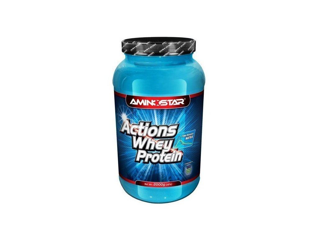 Aminostar Whey Protein Actions 65 1000g  + Aminostar Xpower Flash XT 500 g (Varianta: pomeranč)