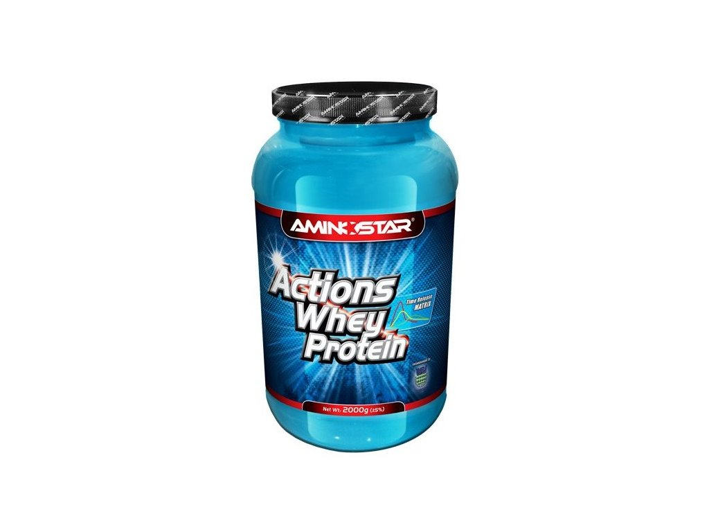 Aminostar Whey Protein Actions 65 2000g