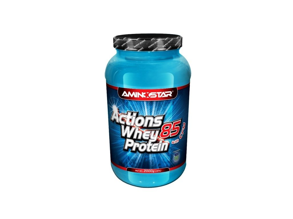 Aminostar Whey Protein Actions 85 2000 g  + Aminostar Xpower Flash XT 500 g