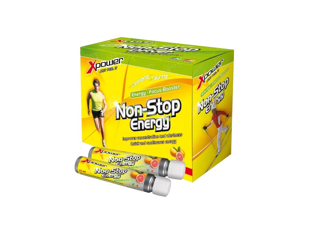 Aminostar Xpower Non-Stop Energy 10×25 ml