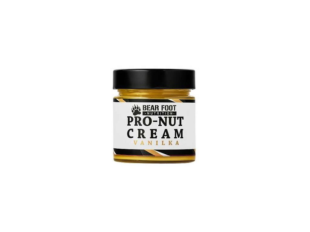 Bear Foot Pro-Nut Cream arašídové máslo s proteinem 250g