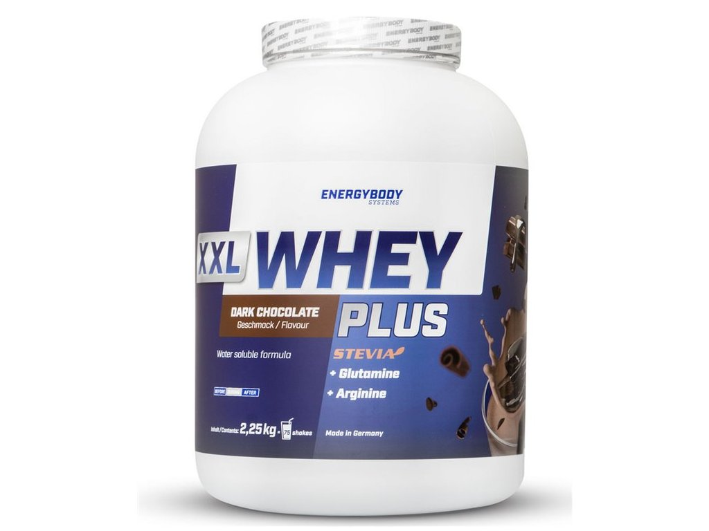 EnergyBody XXL Whey Plus Protein 2250 g