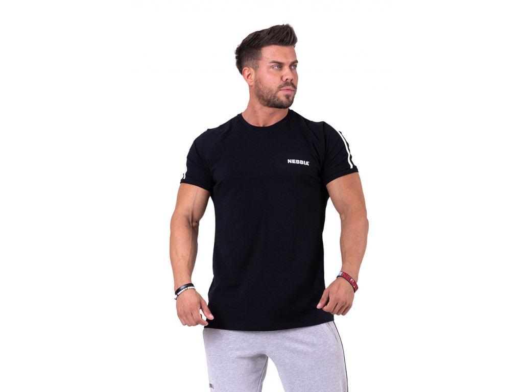 Nebbia 90s Hero tričko 143 černé