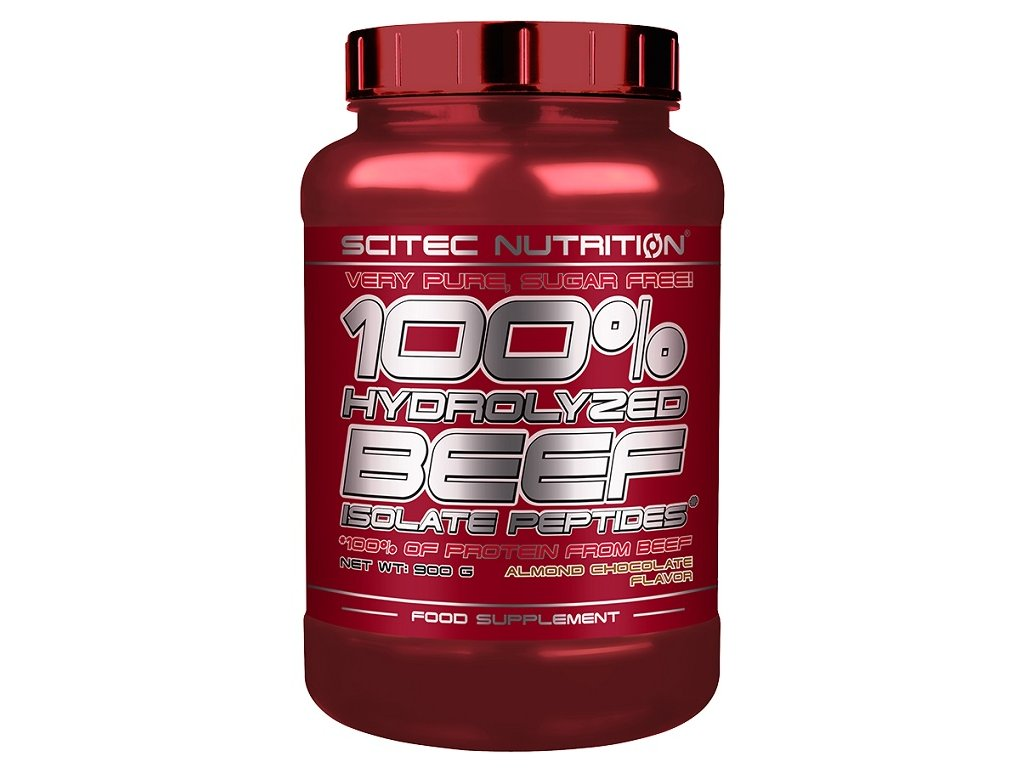 Scitec 100% Hydro Beef Isolate Peptides 900 g