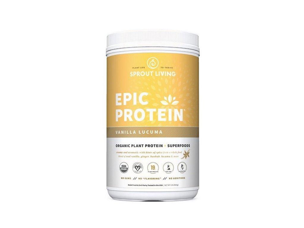 Sprout Living Epic protein organic Vanilka a Lucuma 910 g