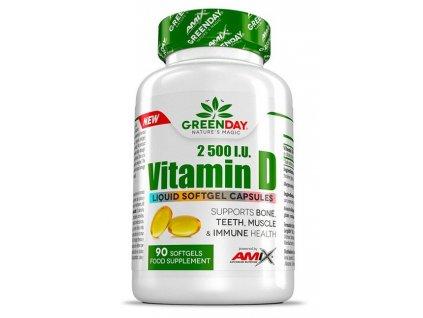 Amix Vitamin D 2500 I.U. 90kapslí
