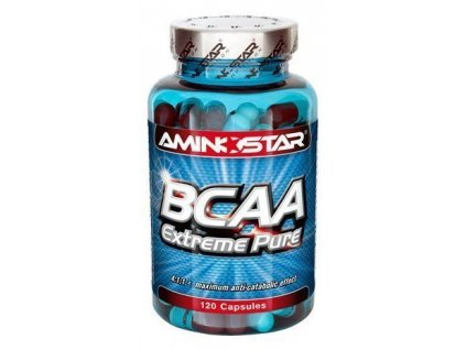 Aminostar BCAA Extreme Pure 120kapslí