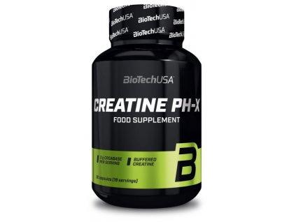 BioTech Creatine PH-X 90 kapslí