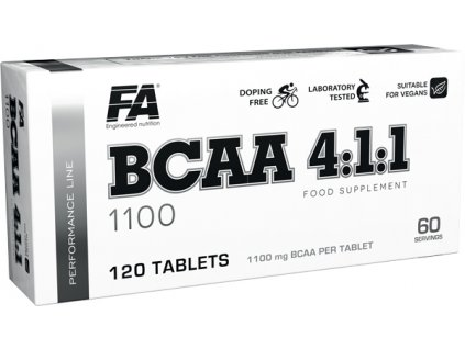 Fitness Authority BCAA 4:1:1 120tablet