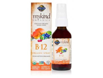 Garden of Life Vitamín B 12 sprej 58ml