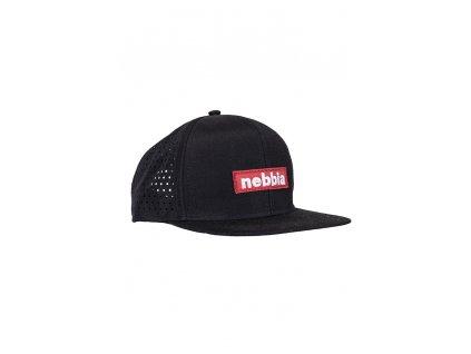 Nebbia Red Label kšiltovka SNAP BACK 163 černá