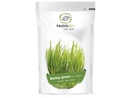 Nutrisslim BIO Barley Grass Powder (New Zealand) 125 g