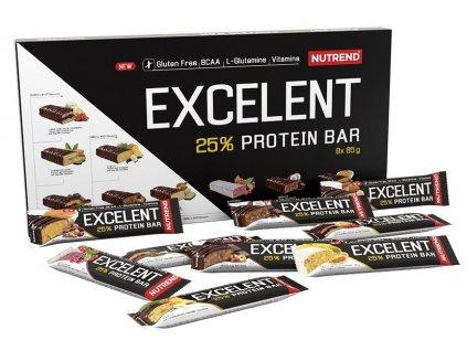 Nutrend Excelent Protein Bar dárkové balení 9×85g