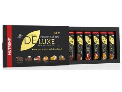 Nutrend Deluxe Protein Bar dárkové balení 6×60g