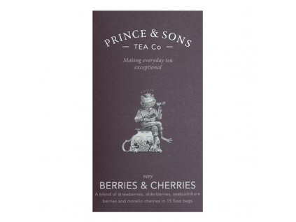 Prince and Sons Berries & Cherries 15 sáčků 37,5g