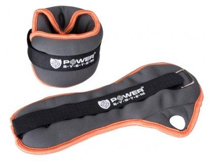 Power System Neoprenové zátěže na zápěstí Wrist Weight 2x1kg