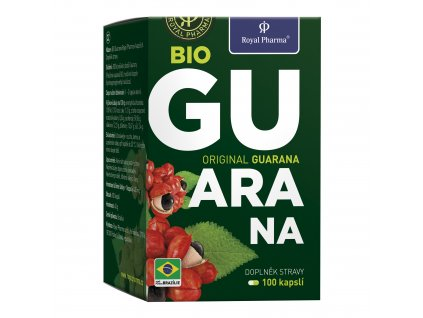 Royal Pharma BIO Guarana 100kapslí