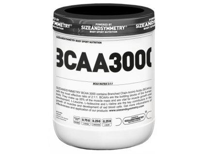 Sizeandsymmetry BCAA 3000 400kapslí