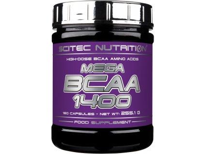 Scitec Mega BCAA 1400 180kapslí