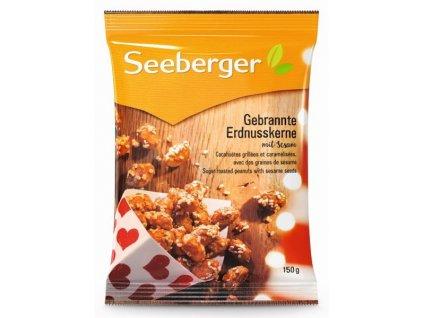Seeberger Pražené arašídy v cukrovém obalu a sezamová semínka 150g