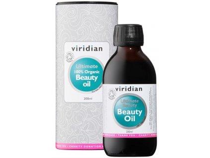 Viridian 100% Organic Beauty Oil (Olej pro péči o vzhled) 200ml