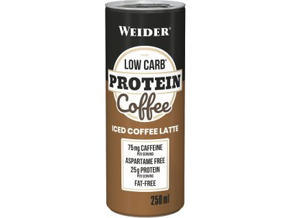 Weider Low Carb Protein Coffee 250 ml