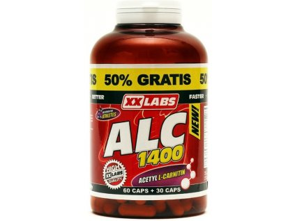 Xxlabs ALC - Acetyl L-Carnitin 90 kapslí