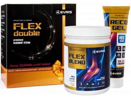 Evris Flex Double Blend 800 g + Reco Gel