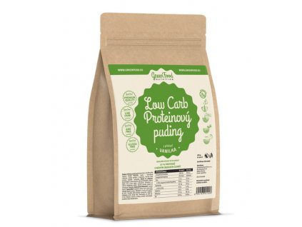 GreenFood Low Carb Proteinový puding 400g