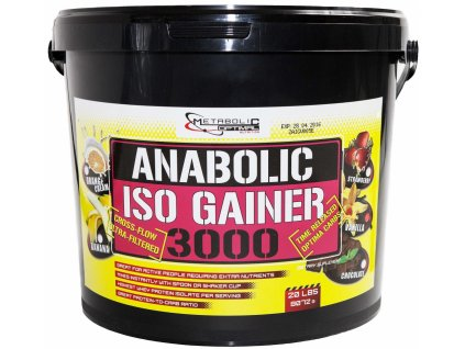 Metabolic Optimal Anabolic Iso Gainer 3000 9072 g