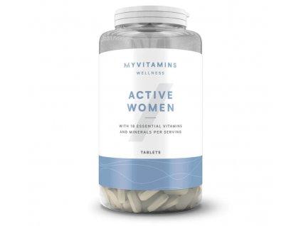 Myprotein Active Woman (Multivitamín pro ženy) 120 tablet