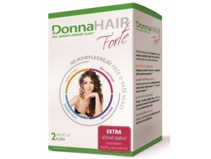 Donna Hair Forte Péče o vlasy 2měsíční kůra 60kapslí