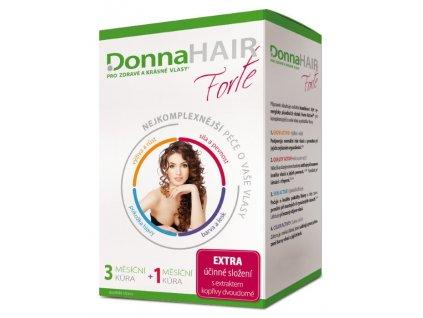 Donna Hair Forte Péče o vlasy 4měsíční kůra 120kapslí