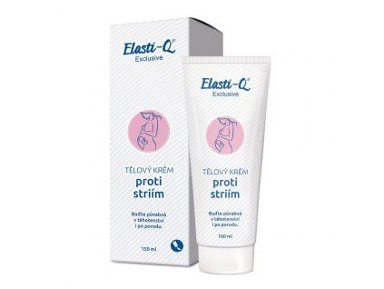 Elasti-q Exclusive Tělový krém proti striím 150 ml