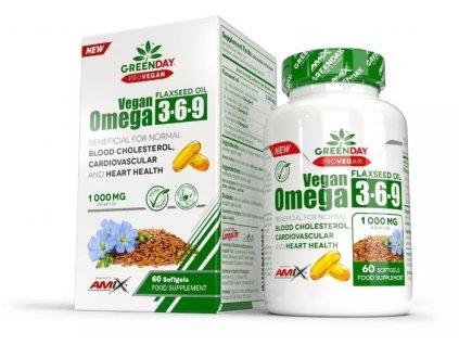 Amix ProVegan Omega 3-6-9 60kapslí