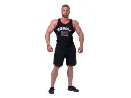 Nebbia Old-school Muscle tílko 193 black