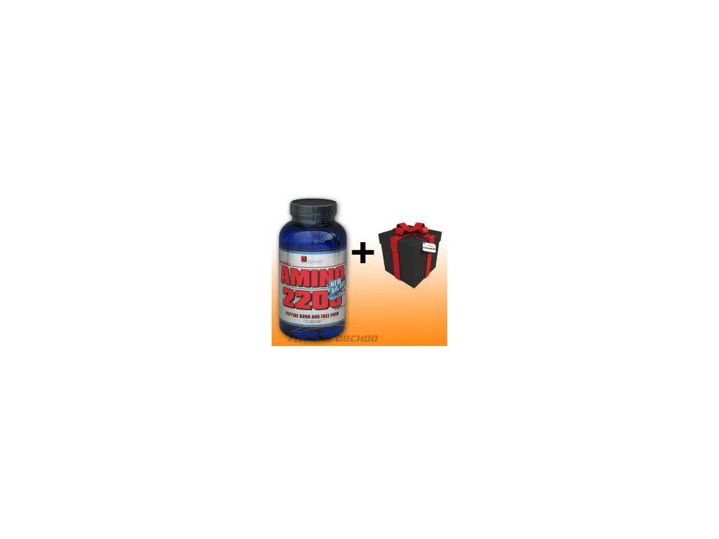 Mega-Pro Nutrition - Amino 2200 New Big Size 3750mg 250 tbl +  SLEVA