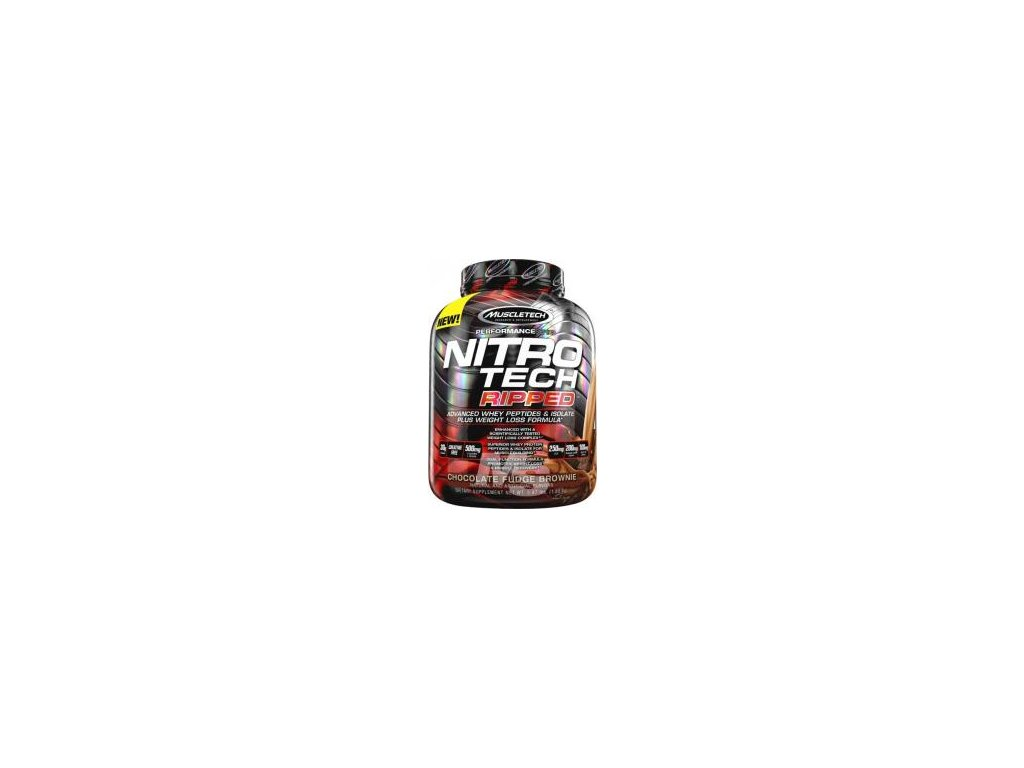 MuscleTech Nitro-Tech Ripped 1800g