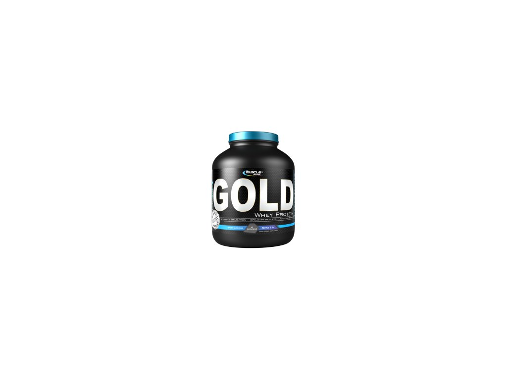 MuscleSport Whey Gold Protein 2270 g